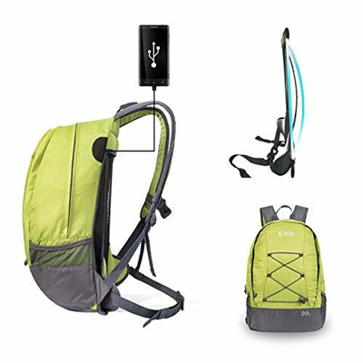 a674f55ce5f5 OnTopcreeper Hiking Backpack 30L Lightweight Suspension and Ventilation  Travel Daypack, Bag for M...