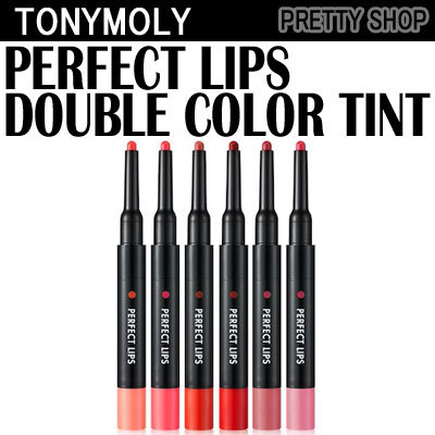 COUPON · ☆ TonyMoly☆ Perfect Lips Double Color Tint 6 Color
