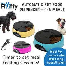 Automatic Pet Food Dispenser / Automatic Program Digital Display Feeder / Dog / Cat / Puppy / Kitten