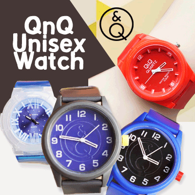 FREE SHIPPING! NEW ITEM UPDATE! FREE EXTRA BATRAI! TODAY ONLY! UNISEX WATCH _ JAM TANGAN QNQ UNISEX Deals for only Rp120.000 instead of Rp120.000
