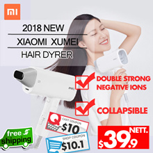 Xiaomi -Smart Electric Hair Dryer Blower Strong Wind Double Strong Negative Ions