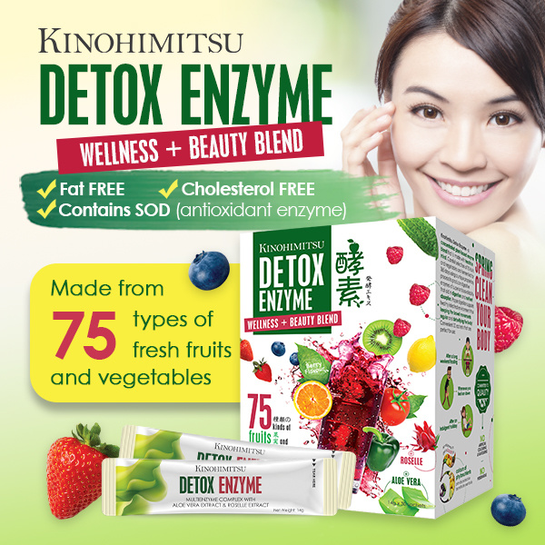 Kinohimitsu Detox Enzyme 30s Deals for only S$59.9 instead of S$0
