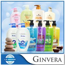 [GINVERA] Bundle of 3 Shower Cream / Natural Bath / Shower Scrub x 3 bottles