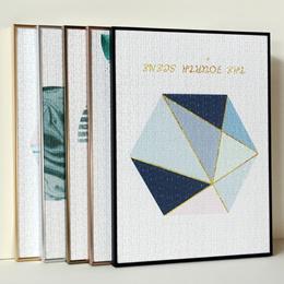 Photo frame /     Narrow side puzzle photo frame 300 pieces 500 pieces 1000 pieces 2000 pieces