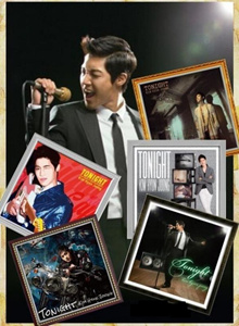 [EXCLUSIVE] KIM HYUN JOONG TONIGHT ALBUM COLLECTION SET 5 CD DVD FIRST PRESS LIMITED COLLECTORS EDITION