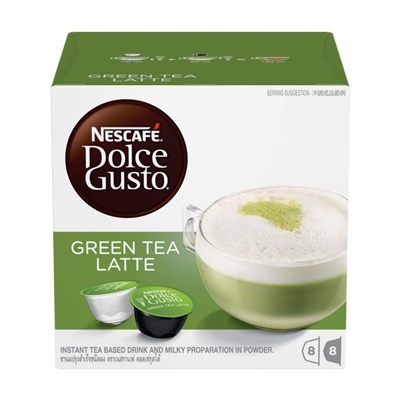 Green Tea Latte (8S)