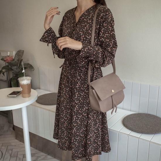 ミミ・アンド・ディディnalon ops5233 綿ワンピース/ 韓国ファッション
