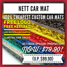 Only $61.90! - 100% CHEAPEST  #1 Customised CarMat - Sedan Hatchback SUV - FREE Qxpress/Installation