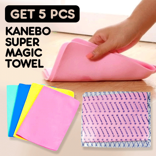 Get 5 pcs Kanebo Super Magic Towel Random Deals for only Rp29.000 instead of Rp34.940
