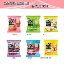 [From the box] 12 bags set of 6 pieces Orihiro konjac jelly pouch (1 box) Specials!