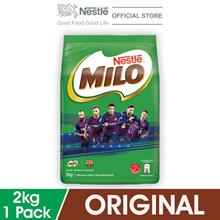 NESTLE MILO ACTIV-GO CHOCOLATE MALT POWDER Softpack 2kg - Barcelona
