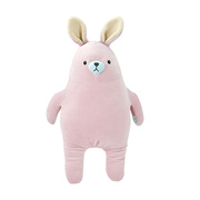 018dee61a86 Miniso Cute Bunny Rabbit Stuffed Animals Plush Pillow Toy Gift for Kids Pink