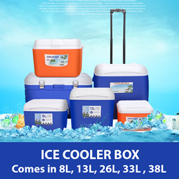 *FREE ICE BAGS* GOOD VALUE Ice Cooler Storage Box - Cold / Hot / Sportts / Camping / Picnic /Fishing