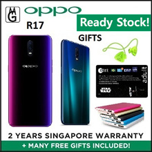 Oppo R17 / 6GB RAM/ 128GB ROM Local 2 Years Warranty. | Ready Stocks!