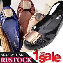 ★One day Special price ★Best Jelly Shoes ★ Sweet Mini Wedge jelly