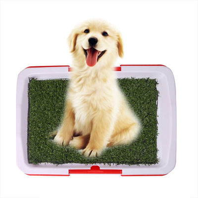 Pet Dog Mesh Toilet Tray Cat Pad Indoor Potty Puppy Training Clean