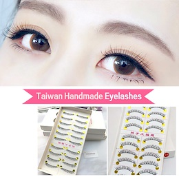 ★ Taiwan Handmade Eyelashes ★ False Eyelashes / Double Eyelid Tape/Eye Lid Sticker/bottom eyelashes