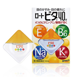 로토비타 40a 12ml4가지 비타민 눈피로 충열 치료 안약