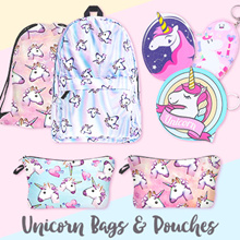 Unicorn Backpack bag Drawstring bags Pouch Keychain Purse Wallet