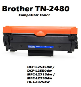 Brother TN-2480 Compatible Toner Cartridge  *FREE SHIPPING BY QXPRESS*