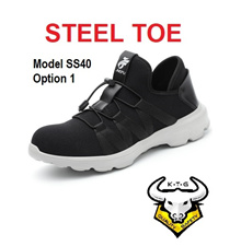 KTG Safety Steel Toe Cap Work Shoes boots Kevlar Sole Sports Light Breathable