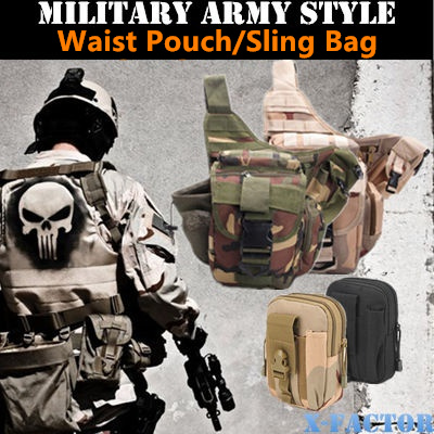 Qoo10 army sling bag mens bags shoes military army style sling bagoutdoor bagcamera bagcasual bag fandeluxe Image collections