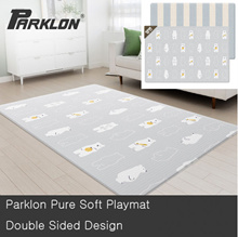 Parklon Free Shipping Baby Playmat Soft Mat Series PVC Double Sided Design Made Korea
