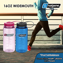 Nalgene® 16oz Widemouth Bottles - Made in USA - Warranty Covered