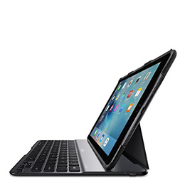 Belkin QODE Ultimate Lite Keyboard Case for iPad Pro 9.7-inch and iPad Air 2 (Black)