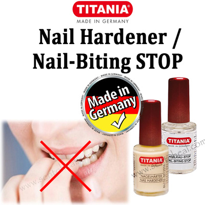 Ania Nail Biting Stop Hardener 10ml Varnish Prevent