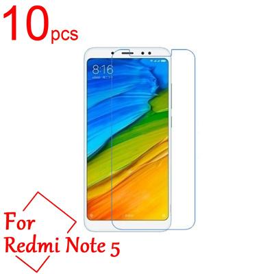 10pcs Clear/Matte/Nano anti-Explosion LCD Screen Protector Cover Xiaomi Redmi note 5 pro Ai Dual