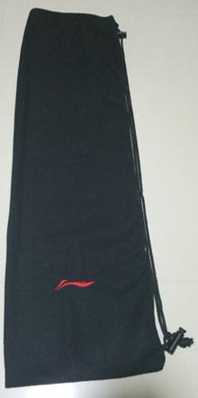 Badminton Racket Cloth Bag Yonex Li-Ning Black