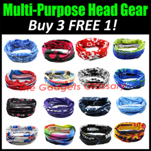 【Design 21-40】BUY 3 FREE 1★Head Gear★Free Shipping★Multiple Design★High Quality★Singapore Seller