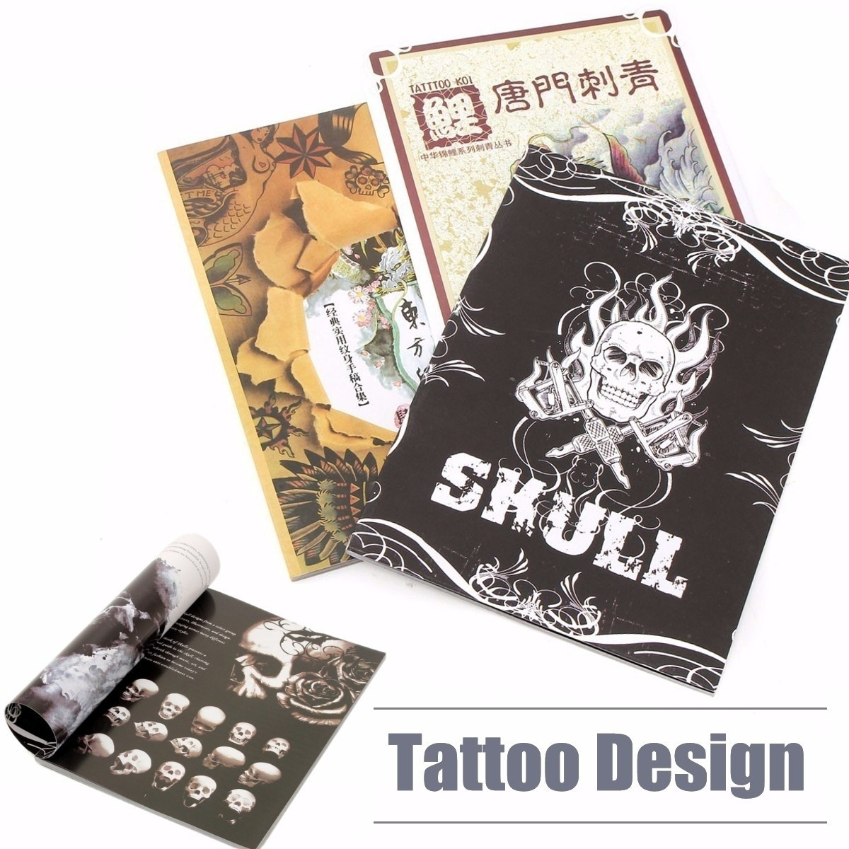 Qoo10 Cool Tattoo Design Ideas References Book Manuscript Body Art For Men W Diet Styling
