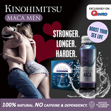 Kinohimitsu MacaMen 20s *FREE 10s* - 100% Natural Boost Muscle Strength Sex Health for Men No Caffin
