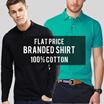 Premium Quality Men T-Shirt - Banyak Pilihan Model - Baju Pria - Polo Shirt - Kaos Pria