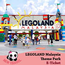 【New Travel】LEGOLAND Malaysia Theme Park Admission E-Ticket BEST PRICE GUARANTEE