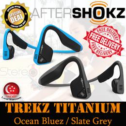 Aftershokz Trekz Titanium Bluetooth Wireless Headset / Headphone / Earpiece / Earphone / local 2year