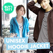 ** BUY 1 GET 1 FREE** ALL VARIOUS BASIC UNISEX JACKETS HOODIE ZiPPER VEST V-NECK and VARSITY--NEW ADD ON KIDS COLLECTIONS