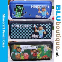 Minecraft Pencil box  *21 cm x 10 cm x 7 cm Creeper Steve