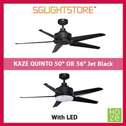 SgLightStore - Kaze Quinto - 50/56 Inch (Jet Black)