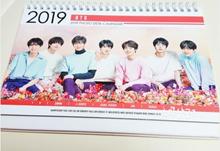 [BTS] BangtanBoys 2019  2020 Desktop Calendar
