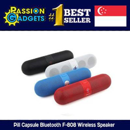 ▌▌█ ♥CHEAPEST!♥ █ ▌▌Pill Capsule Bluetooth F-808 Wireless Speaker+Built-in Battery |FM Radio Fuction