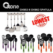 OXONE OX-953|OX-955|OX-963|OX-975 SPATULA SET Avalaible 3 Types
