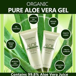 ♥ALOE VERA PURE GEL 99.8%♥  ORGANIC/SAFE/EFFECTIVE  Pure Oil Control Reduce Acne Moisturise Face
