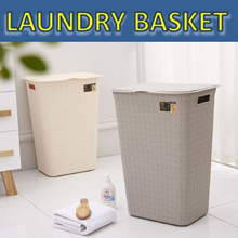 [20% OFF] Laundry Basket Home Organisation Storage Box Container Clothes Storage Rack CNY Decoration