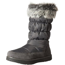 (Skechers)/Women s/Boots/DIRECT FROM USA/Skechers Women s Adorbs-Nylon Quilted Snow Boot
