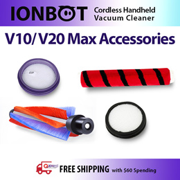 ★IONBOT Handheld Vacuum Cleaner Accessories V8/ V10/ V20★Authentic And Easy Replacement!