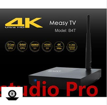 Measy B4T Android 5.1 4K Ultra HD TV Box RK3368 Octa Core 1G RAM 8G ROM Bluetooth 4.0 XBMC KODI H.26