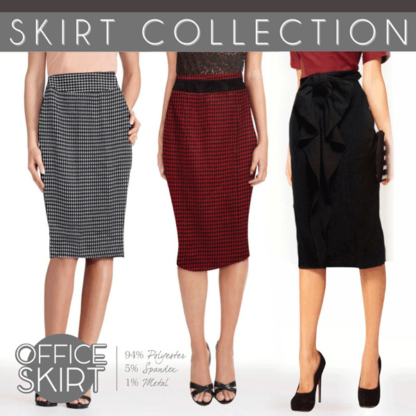 CLEARANCE SALE! BRAND SKIRTS COLLECTION_7STYLE_PENCIL SKIRTS/MINI SKIRTS/FLARE SKIRTS/CASUAL SKIRTS/PAKAIAN WANITA/BUSANA WANITA/ROK WANITA Deals for only Rp40.000 instead of Rp40.000